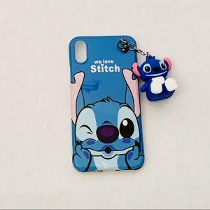 Disney's Stitch iPhone X Cell Phone Case
